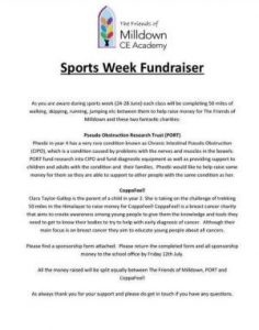 Sports week fundraiser 300 x 380